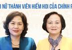 Điều đặc biệt về 2 nữ thành viên hiếm hoi của Chính phủ