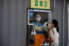 Hàn Quốc có số ca nhiễm Covid-19 trong ngày cao chưa từng thấy