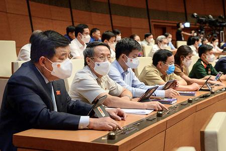 Quốc hội chốt Chính phủ nhiệm kỳ mới có 27 thành viên, giảm một Phó Thủ tướng