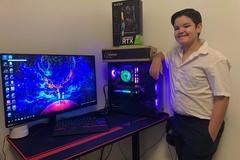 Cậu bé 11 tuổi tìm ra mẹo vượt 100.000 người, mua card đồ họa hiếm