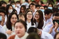 Điểm chuẩn học bạ vào ĐH Sư phạm TP.HCM cao nhất 29,75 điểm