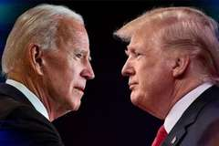 Tổng thống Biden được ưa thích hơn ông Trump