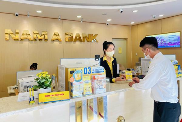 Nam A Bank tung nhiều ưu đãi, hỗ trợ khách hàng mùa dịch