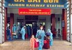 Tàu hỏa đưa hàng trăm công dân Quảng Trị, Hà Tĩnh về quê tránh dịch