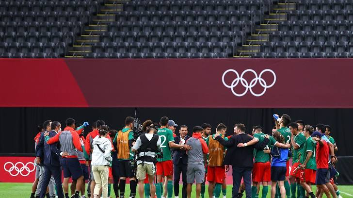 Mexico chạm trán Hàn Quốc ở tứ kết Olympic
