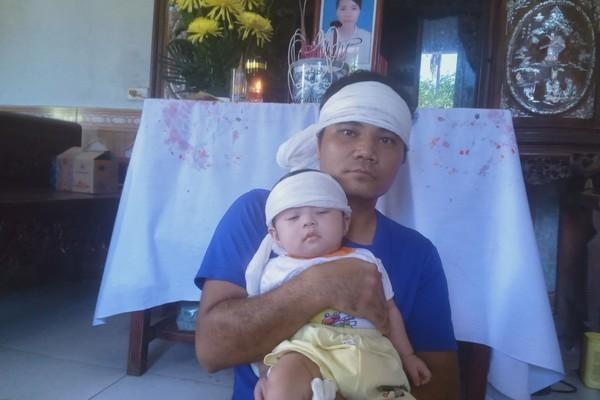 Bé Nguyễn Văn Lộc mồ côi mẹ được bạn đọc giúp đỡ gần 30 triệu đông