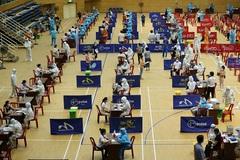 Hình ảnh lần đầu tiên Đà Nẵng tiêm vắc xin phòng Covid-19 tập trung với quy mô lớn