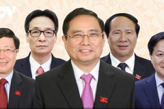 The 27-member Cabinet of Vietnam for the 2021-2026 term