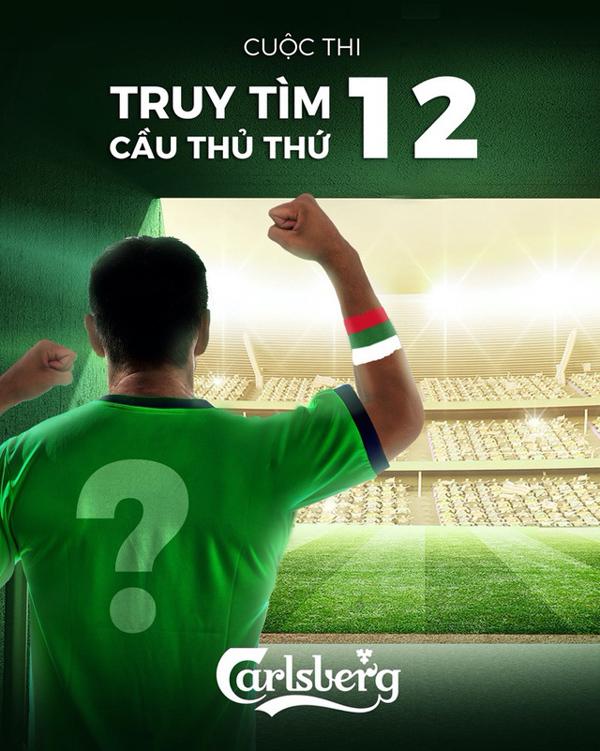 Carlsberg thổi nhiệt cho từng khoảnh khắc thăng hoa của 'cầu thủ thứ 12'