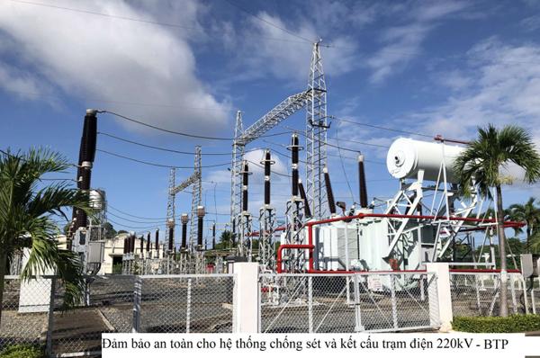 Nhiệt điện Bà Rịa chủ động ứng phó trước mùa mưa bão