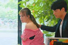 'Hương vị tình thân' tập 73, Nam bị xé áo đánh ghen trước mặt Long