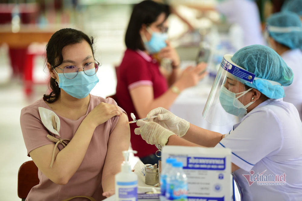 17h ngày 29/7: Quỹ vắc xin tăng thêm 73 tỷ, đạt 8.418 tỷ đồng