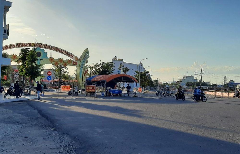 Giãn cách xã hội theo chỉ thị 16 toàn thị xã An Nhơn vào 0h ngày 30/7