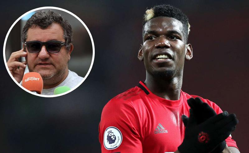 Siêu cò Raiola mời gọi Liverpool mua Pogba