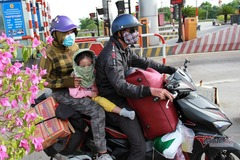 Những ân tình trải dài suốt hành trình 1.000km về quê bằng xe máy