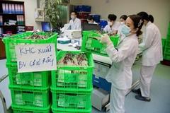 Chuyến bay lúc 1h sáng mang theo 1.000 đơn vị máu chi viện TP.HCM