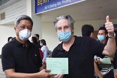 Bệnh nhân người Anh khỏi Covid-19 ở TP.HCM: Tôi trở về từ cõi chết