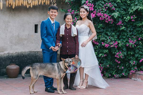 Ảnh cưới giản dị của YouTuber 'Ẩm thực mẹ làm'