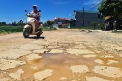 Mượn đường xã ở Thanh Hóa để thi công dự án, đường nát bươm không sửa lại