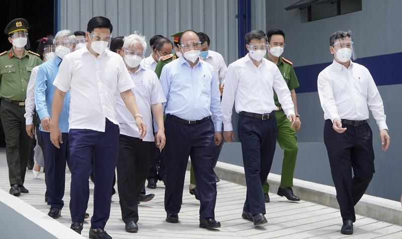 Chủ tịch nước yêu cầu Bình Dương sớm vận hành bệnh viện dã chiến phân tầng