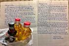 Bức thư cảm động của cụ ông gửi người hàng xóm nấu cơm cho mình