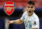 """Arsenal chi đậm nổ """"bom tấn"""" Lautaro Martinez"""