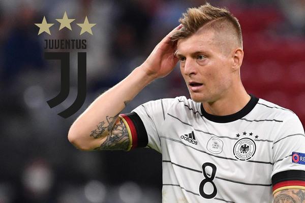 Juventus hỏi mua Toni Kroos giá 40 triệu euro