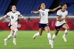 Kết quả bóng đá nữ Olympic 2020