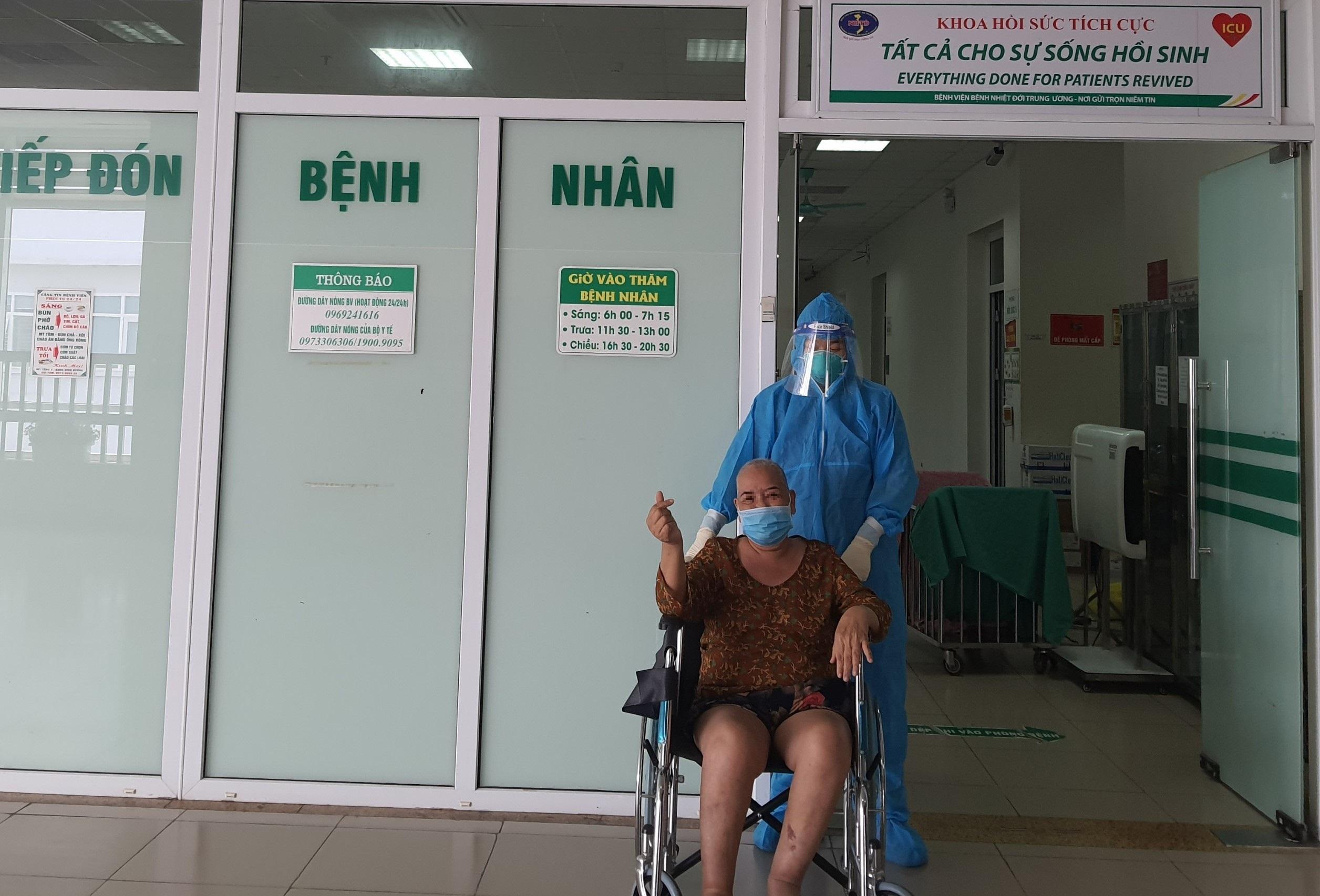 """Bệnh nhân 64 tuổi từng nguy kịch vì """"bão Cytokine"""" đã hồi phục"""