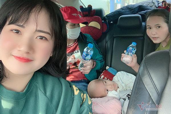 Cô gái 9X lái xe xuyên đêm 1.200 km đưa bệnh nhân nghèo về quê