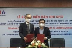 Toyota tăng cường hợp tác lĩnh vực công nghiệp hỗ trợ ô tô