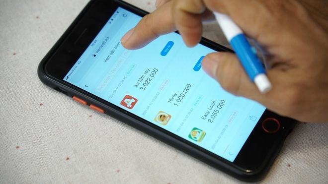 Vay 3,6 triệu đồng qua app, một người ở TP.HCM phải trả hơn 200 triệu