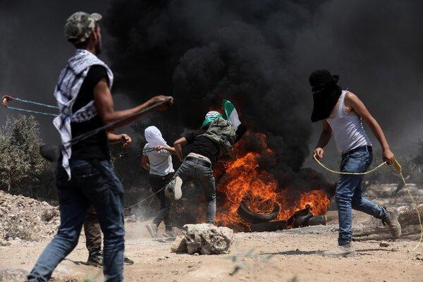 Biểu tình dữ dội ở Bờ Tây, hàng trăm người Palestine bị thương