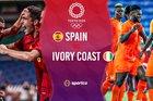 Trực tiếp Tây Ban Nha vs Bờ Biển Ngà: Tứ kết bóng đá nam Olympic