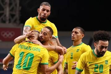 Thắng nhọc Ai Cập, Brazil thẳng tiến bán kết Olympic Tokyo