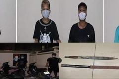 Nhanh chóng bắt giữ 6 tên cướp nhí manh động