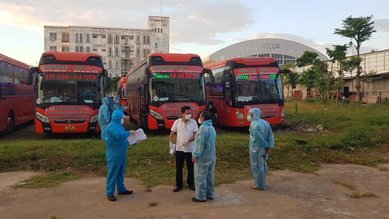 Phú Yên đón toàn bộ công dân ở các tỉnh phía Nam về quê