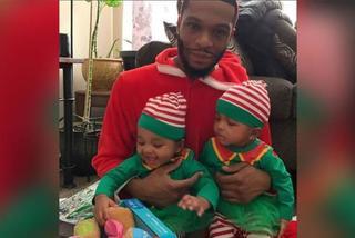 Ông bố ở Mỹ lao vào biển lửa cứu hai con gái sinh đôi