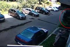 Người phụ nữ bắt gọn em bé rơi khỏi cửa sổ chung cư