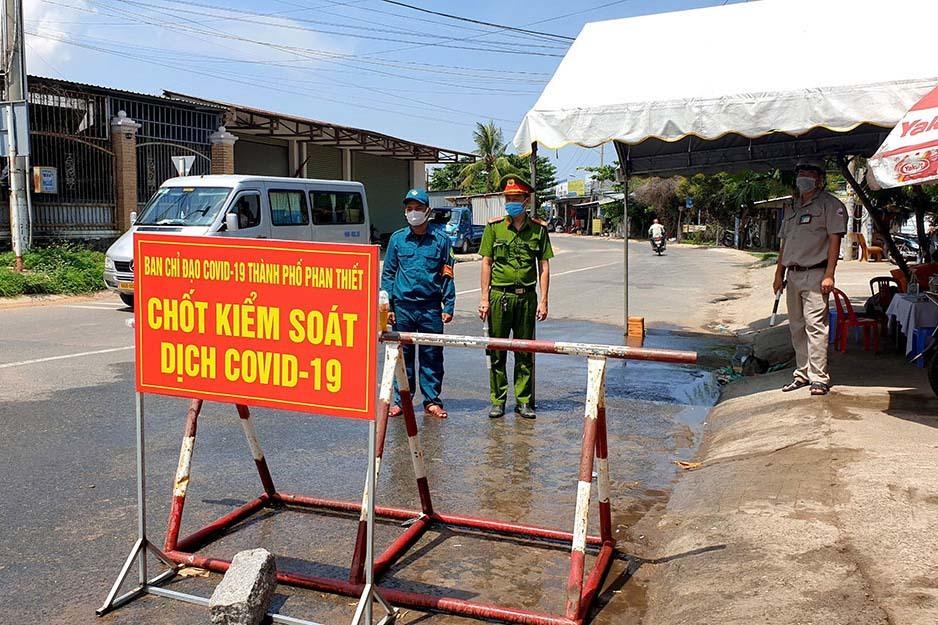 Bình Thuận giãn cách xã hội TP Phan Thiết theo Chỉ thị 16 từ 0h ngày 2/8
