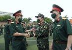 130 sĩ quan Bệnh viện dã chiến Bộ Quốc phòng xuất quân vào miền Nam