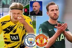 MU hẹn đua ký Harry Kane và Haaland với Man City, Chelsea