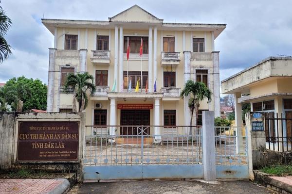 Cục trưởng Thi hành án dân sự Đắk Lắk nghỉ việc theo nguyện vọng