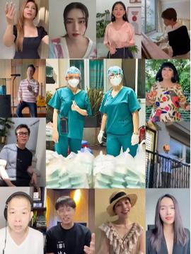 Khánh Vân, H'Hen Niê cùng hơn 20 ca sĩ hợp ca cổ vũ Sài Gòn
