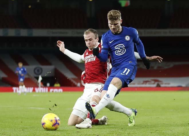 HLV Tuchel tiết lộ mối lo Chelsea khi Timo Werner tiếp tục 'chân gỗ'