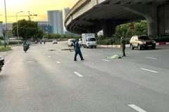Bị ô tô tông rồi bỏ chạy,  người đi xe máy tử vong trên đường Nguyễn Xiển