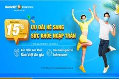 Bảo hiểm Bảo Việt giảm phí bảo hiểm sức khoẻ đến 15%