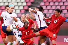 Kết quả bóng đá nữ Olympic Tokyo hôm nay 2/8: Canada gây sốc khi loại Mỹ