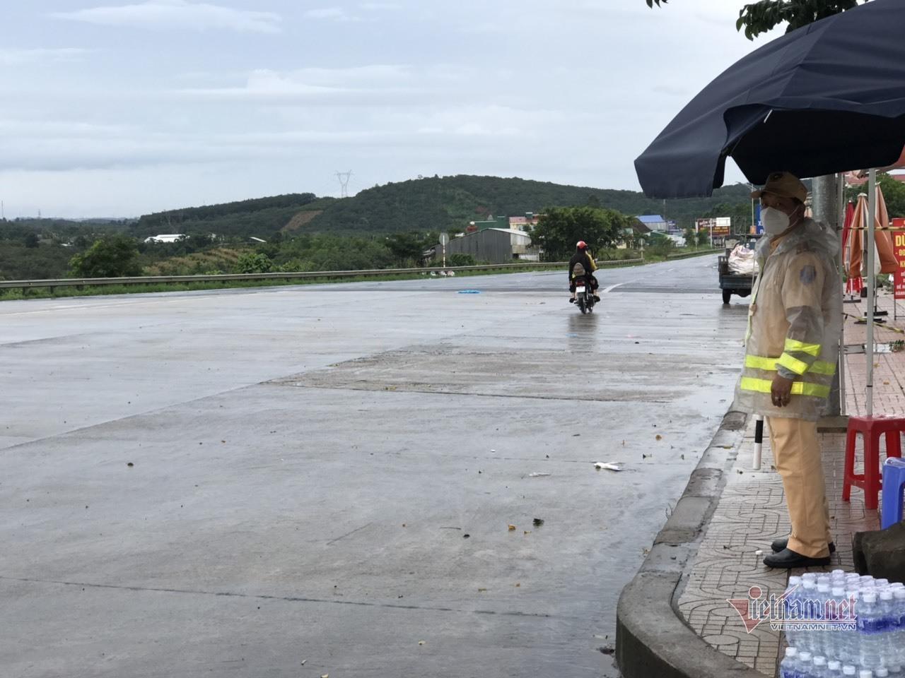 Không có thêm đoàn xe máy từ phía Nam về quê sau Công điện của Thủ tướng