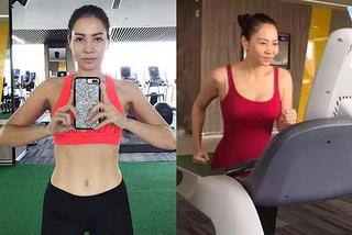 Tuổi 43, Thu Minh thân hình quyến rũ nhờ chăm tập gym